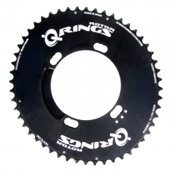 rotor plateau q rings aero exterieur bcd 110mm 4 branches shimano