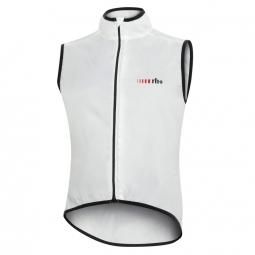 zero rh gilet sans manches aria light vest blanc