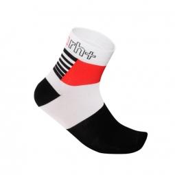 zero rh paire de chaussettes zeta 9 blanc noir rouge