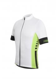 zero rh maillot manches courtes infinity fz blanc vert
