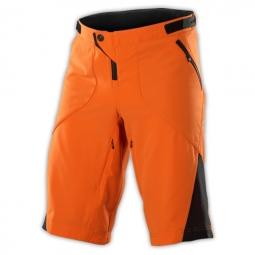 troy lee designs short ruckus orange