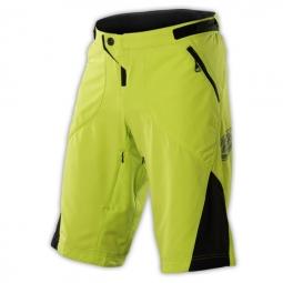 troy lee designs short ruckus jaune noir