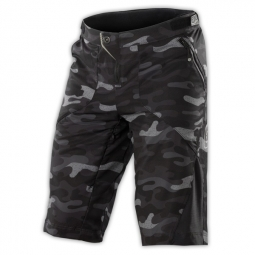 troy lee designs short ruckus noir camouflage