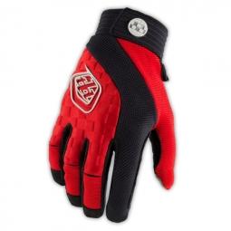 troy lee designs paire de gants longs sprint rouge