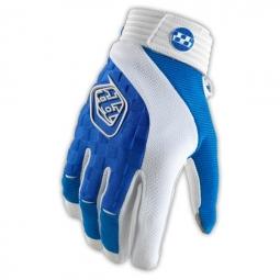 troy lee designs paire de gants longs sprint bleu