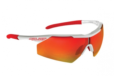 salice paire de lunettes 004rw blanc rouge