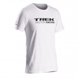 bontrager 2014 t shirt trek factory racing blanc