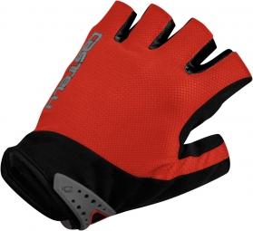 castelli paire de gants s uno glove rouge noir