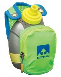 bouteille a main nathan quickshot plus 300ml vert