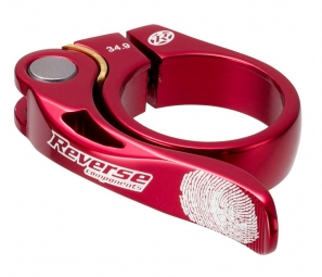 reverse collier de selle long life diametre 34 9 mm rouge