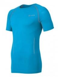 odlo maillot running seamless race manches courtes bleu