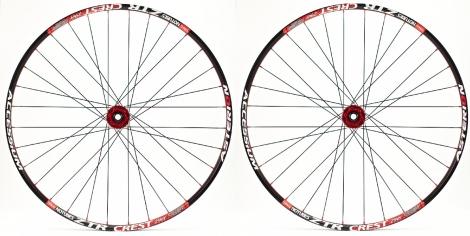 asterion paire de roues accessium xc 29 moyeux aivee mt3 axes 15mm av 9mm ar rouge