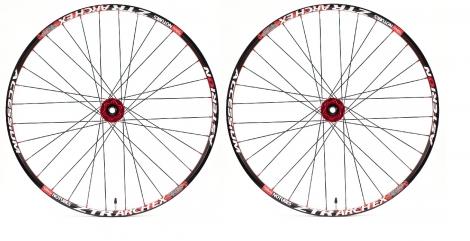 asterion paire de roues accessium am 26 moyeux aivee mt3 15mm av 142x12mm ar noir