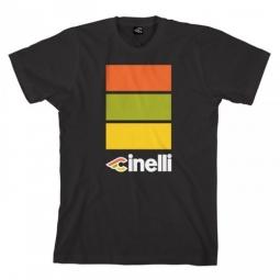 cinelli tee shirt italo 79 noir