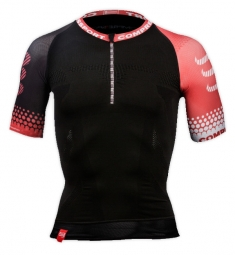 compressport trail t shirt noir