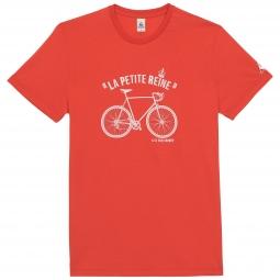 le coq sportif t shirt tour de france la petite reine rouge