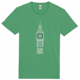 le coq sportif t shirt tour de france big ben vert