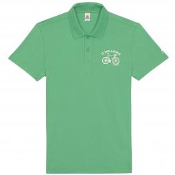 le coq sportif polo tour de france vert
