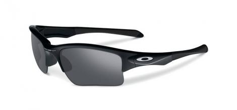 oakley paire de lunettes quarter jacket polished noir iridium ref 009200 01