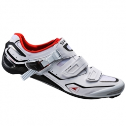 chaussures route shimano r260 blanc