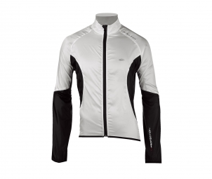 northwave veste coupe vent north wind blanc noir