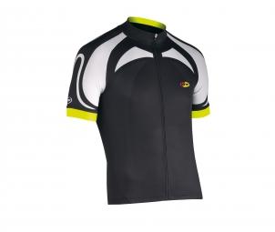 northwave 2014 maillot manches courtes logo noir jaune