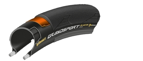 continental pneu grand sport race 700x23 noir