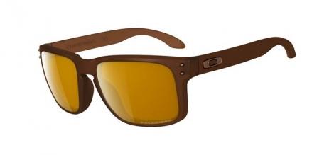 oakley lunettes holbrook marron marron polarise ref oo9102 03