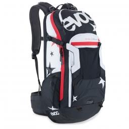 evoc sac protector trail unlimited 20l noir blanc