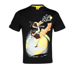 le tour de france t shirt affiche tour de france noir