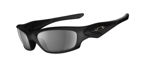 oakley paire de lunettes straight jacket black grey polarises ref 24 124