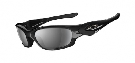 oakley lunettes straight jacket polished black black iridium ref 12 935