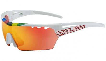salice paire de lunettes 006 rw champion du monde blanc rouge