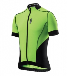 santini 2014 maillot manches courtes zero impact vert