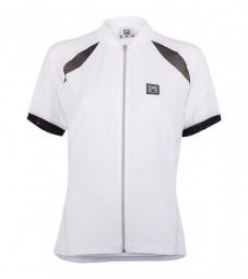 santini 2014 maillot manches courtes femmes charm blanc
