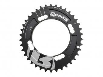 rotor plateau vtt exterieur q ring xc2 104mm bcd noir