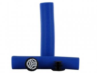 sb3 silicone grips bleu 30mm