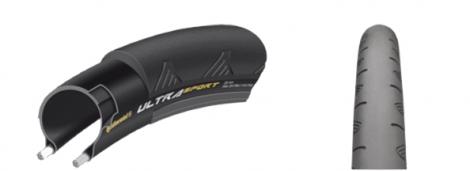 continental pneu ultrasport ii 700x23 noir
