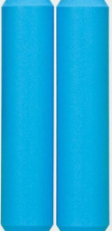 esi paire de grips racer s silicone bleu aqua 30mm