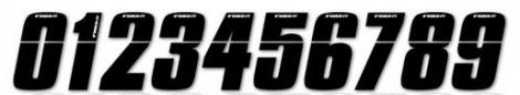 insight numero pour plaque bmx noir 7 5 cm
