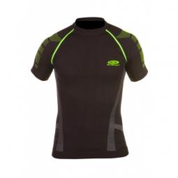 bv sport maillot de maintien nature 3r court noir vert