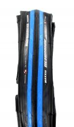 maxxis pneu route detonator 700x23 bleu
