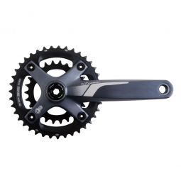 sram pedalier x7 non inclus gxp 2x10 vitesses 28 42 gris