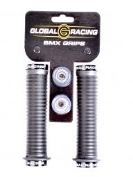 global racing grips lock on techgrips noir