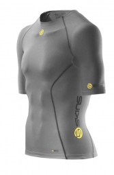 skins maillot compression a200 gris homme