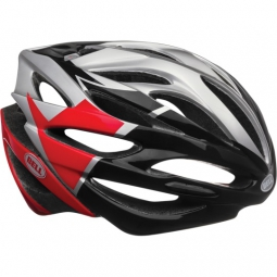 casque bell array gris rouge noir