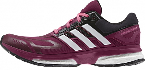 adidas chaussures response 23 boost violet femme