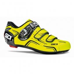 chaussures route sidi level 2015 noir jaune fluo
