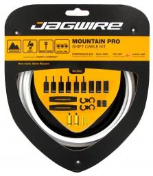 jagwire kit derailleurs mountain pro blanc