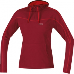 gore running wear veste femme essential rouge